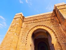 Gate in Rabat, Morocco, Africa Stock Photography