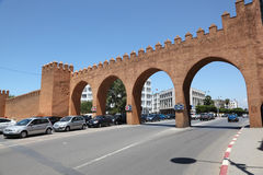 Gate in Rabat, Morocco Royalty Free Stock Photography