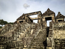The Gate of Ratu Boko Palace. The Collection of The Beauty Around Java and Bali Island. Holiday Vibes Stock Photos