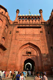 Gate of Red Fort, New Delhi Stock Photos