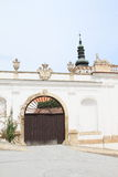 Gate of riding-school in Mikulov Royalty Free Stock Image