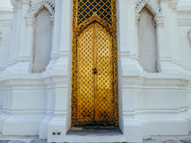 Gate of Royal cemetry at Wat Ratchabopit Royalty Free Stock Images