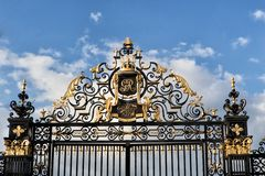 Gate with royal ornaments Stock Photography