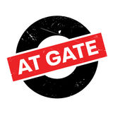 At Gate rubber stamp Royalty Free Stock Images
