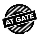 At Gate rubber stamp Royalty Free Stock Photos