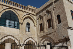 Gate of Saint Hırmız  Chaldean Church in Mardin. Stock Photo