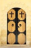 Gate of Saint Hırmız  Chaldean Church, Mardin. Royalty Free Stock Image