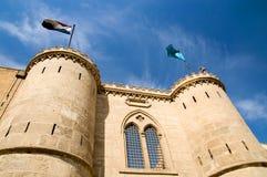 Gate of Saladin Citadel Stock Images