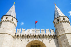 The Gate of Salutation, Istanbul, Turkey. Royalty Free Stock Image