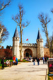 The Gate of Salutation of Topkapı Palace Stock Photos