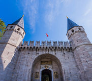 Gate of Salutation at Topkapi Palace Royalty Free Stock Photography