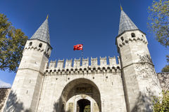 Gate Of Salutation, Topkapi Palace , Istanbul, Turkey Stock Photography