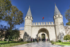 Gate Of Salutation, Topkapi Palace , Istanbul, Turkey Stock Images