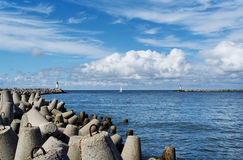 Gate of the sea. Stock Photography