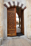 Gate or Sherifili mosque Stock Photo