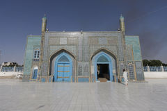 Gate of the Shrine of Ali. In Mazar-i-Sharif, Afghanistan Stock Images