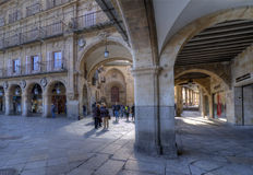 Gate Square. Salamanca Stock Images
