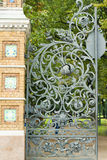 Gate in  St. Petersburg Royalty Free Stock Images
