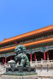 The Gate of Supreme Harmony, Forbidden City Stock Image