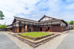 Gate of Takayama Jinya, Former Government Outpost Stock Photo