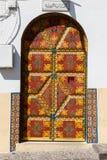 Gate in Tangier Morocco Stock Image