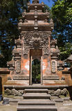 Gate of Temple . Indonesia, Bali, Ubud Royalty Free Stock Image