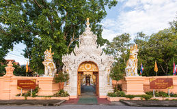 Gate of Temple Stock Photography