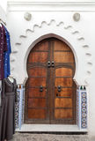 Gate in Tetuan in Morocco Royalty Free Stock Images