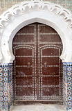 Gate in Tetuan in Morocco Stock Image