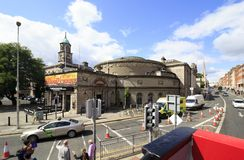 Gate Theatre. Dublin, Ireland - August 19, 2014: Gate Theatre in the Dublin Stock Photography