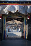 Gate of tibet Royalty Free Stock Photography