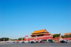 Gate Tienanmen Stock Photography