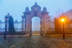 Gate to Buda Castle, Budapest Royalty Free Stock Photo