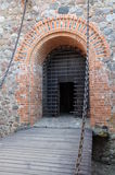 Gate to the castle Royalty Free Stock Image