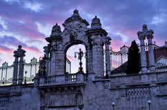Gate to the Castle in Budapest, Hungary Royalty Free Stock Photography