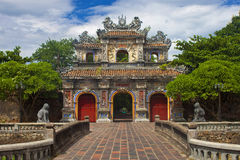 Gate to a Citadel in Hue Royalty Free Stock Photos