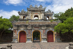 Gate to a Citadel in Hue Stock Images
