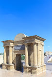 The gate to Cordoba is located on the site of previous Roman Stock Images