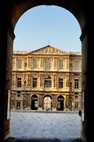 Gate to the Cour Carrée, Louvre, Paris Stock Images