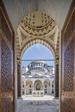 Gate to court yard of Suleymaniye Mosque Stock Image