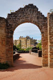 Gate to Culzean Castle. This picture show the gate to Culzean Castle, Scotland Royalty Free Stock Photography