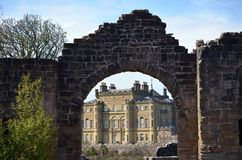 Gate to Culzean Castle Stock Image
