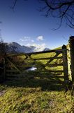 Gate to the Fells Royalty Free Stock Photos