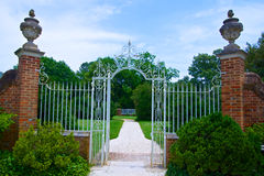Gate to the Gardens Royalty Free Stock Images