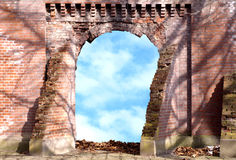 Gate to heaven. Fantasy of a Gate to heaven Stock Image