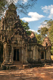 Gate to History. In Angkor Complex Stock Images