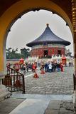 Gate to the Imperial Vault of Heaven. The Temple of Heaven. Beijing. China Royalty Free Stock Photo