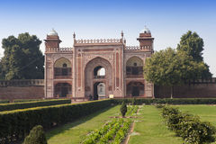 Gate to Itmad-Ud-Daulah's Tomb (Baby Taj) at Agra, Uttar Pradesh, India Stock Images