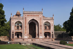 Gate to Itmad-Ud-Daulah's Tomb (Baby Taj) at Agra, Uttar Pradesh, India Royalty Free Stock Images