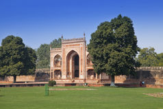 Gate to Itmad-Ud-Daulah's Tomb (Baby Taj) at Agra, Uttar Pradesh, India Royalty Free Stock Photo